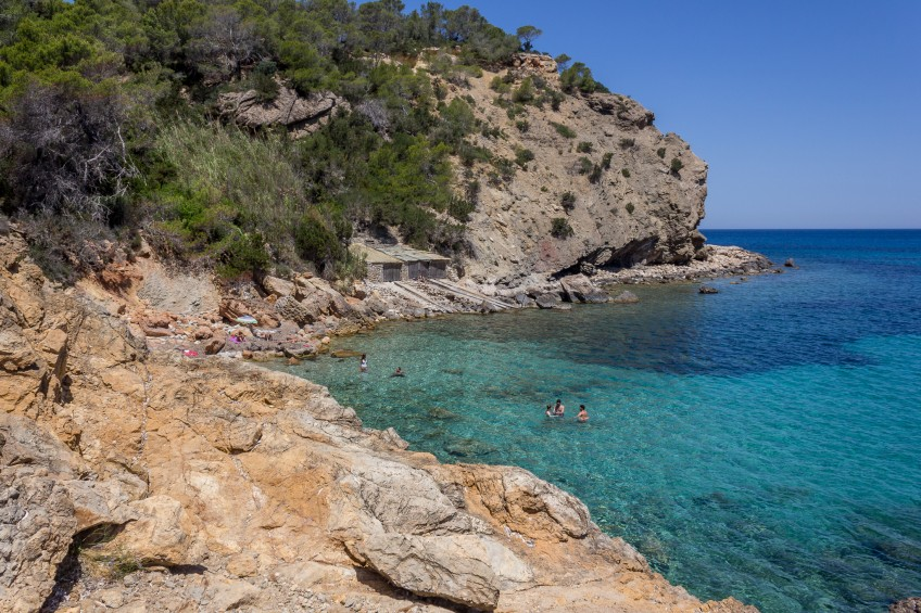 Cala Xarraca beach, Ibiza
